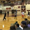 MHS Students Show Off Dodgeball Skills